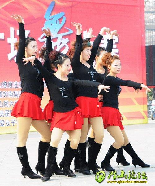 广场舞蹈队形变化和造型之美初、决赛现场扫
